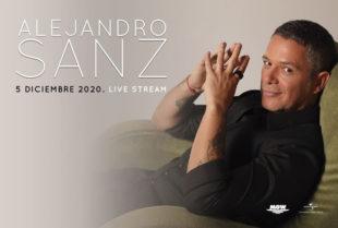 ALEJANDRO SANZ OFRECERÁ  CONCIERTO EXCLUSIVO EN DIRECTO VIA STREAMING