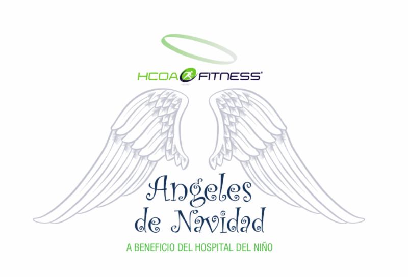 HCOA FITNESS SE CONVIERTE EN ANGELES DE NAVIDAD PARA EL HOSPITAL DE NIÑO