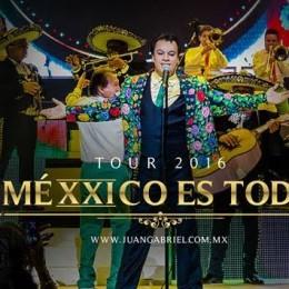"""JUAN GABRIEL PRESENTA EN LA ISLA SU TOUR """"MÉXXICO ES TODO"""""""