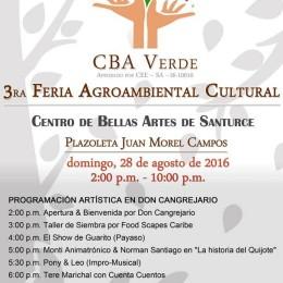 CBA celebra 3ra Feria Agroambiental