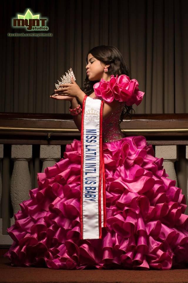 "La puertorriqueña Eduarelys Picón Bonilla  gana la competencia  ""BEST KIDS MODEL OF THE UNIVERSE 2014"""