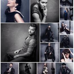El fotógrafo Omar Cruz lidera el   Instagram Portrait Studio  durante la pasada edición del Premio Lo Nuestro